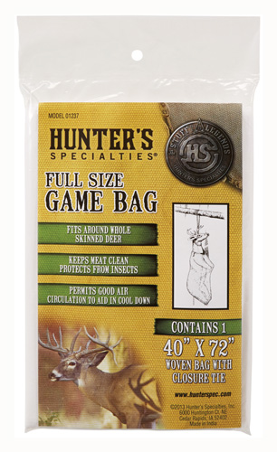 "HS FIELD DRESSING GAME BAG DEER SIZE 40""X72"" - for sale"