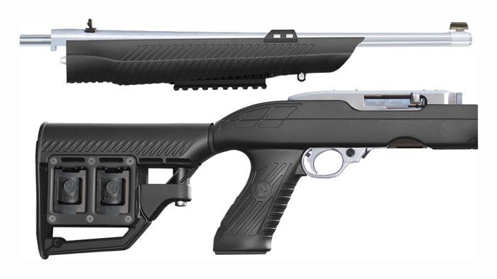ADTAC RM-4 STOCK RUGER 10/22 TAKE DOWN TACTICAL BLACK SYN - for sale
