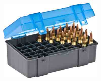 PLANO AMMO BOX MEDIUM RIFLE 50-RNDS FLIP TOP - for sale