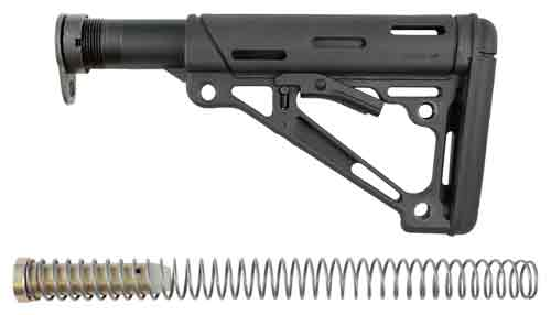 HOGUE AR-15 COLLAPSIBLE STOCK BLACK MIL-SPEC W/BUFFER TUBE - for sale