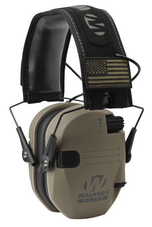 walker's game ear - Razor - RAZOR SLIM ELECTRONIC MUFF FDE PATRIOT for sale