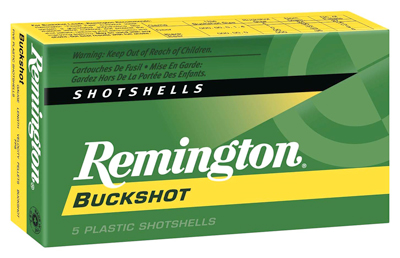 REMINGTON MAGNUM BUCKSHOT AMO 12GA 4BUCK 27 PEL 5RD 2 3/4 IN 1325 FPS 20626 - for sale