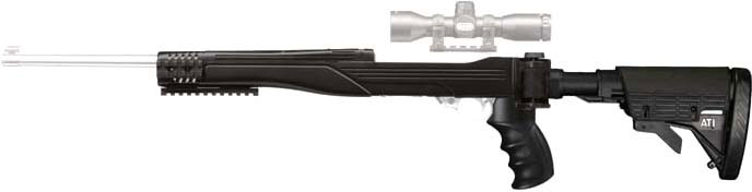 ADV. TECH. RUGER 10/22 STRIKE FORCE STOCK W/RECOIL SYSTEM - for sale