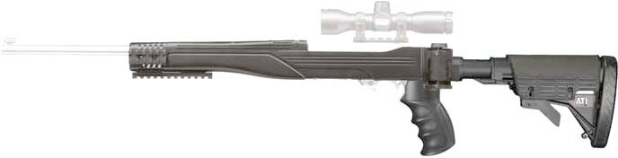 ADV. TECH. RUGER 10/22 STRIKE FORCE STOCK DESTROYER GRAY - for sale