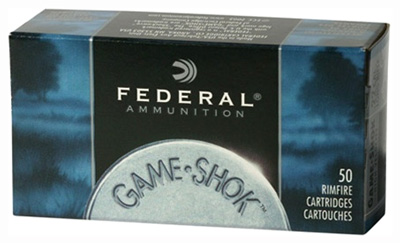 Federal - Game-Shok - .22LR - GAME-SHOK 22LR 40GR CPS 50/BX for sale