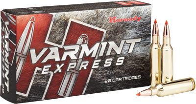HORNADY VARMINT EXPRESS RIFLE AMO 6MM CREEDMOOR 87GR V-MAX 20RD (10 BOXES PER CASE) - for sale