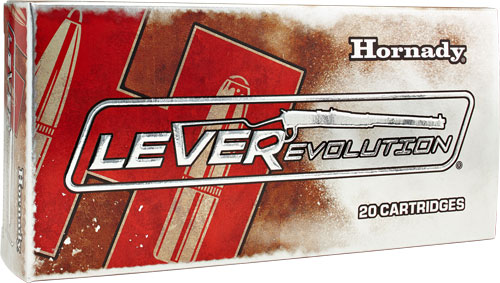 HORNADY LEVEREVOLUTION RIFLE AMO 7-30 WATERS 120GR FTX 20RD (10 BOXES PER CASE) - for sale
