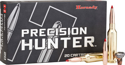 HORNADY PRECISION HUNTER RIFLE AMO 6.5 PRC 143GR ELD-X 20RD (10 BOXES PER CASE) - for sale