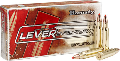 HORNADY LEVEREVOLUTION RIFLE AMO 307 WIN 160GR FTX 20RD (10 BOXES PER CASE) - for sale