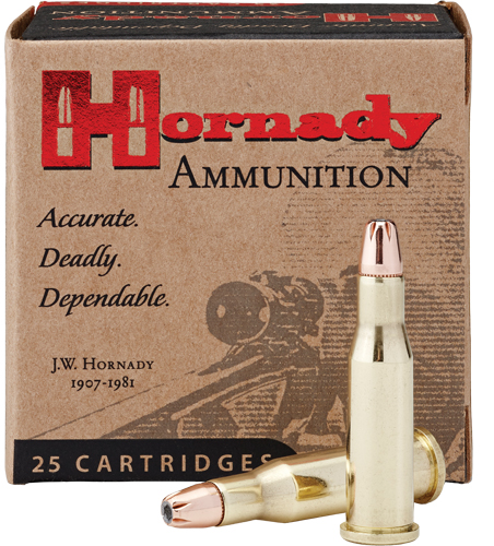 HORNADY CUSTOM RIFLE AMO 218 BEE 45GR HP 25RD (10 BOXES PER CASE) - for sale