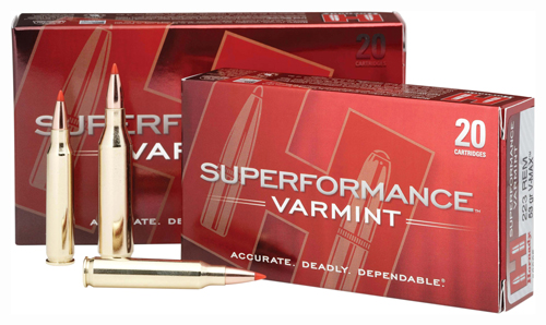 HORNADY SUPERFORMANCE RIFLE AMO 243 WIN 58GR V-MAX SPF 20RD (10 BOXES PER CASE) - for sale