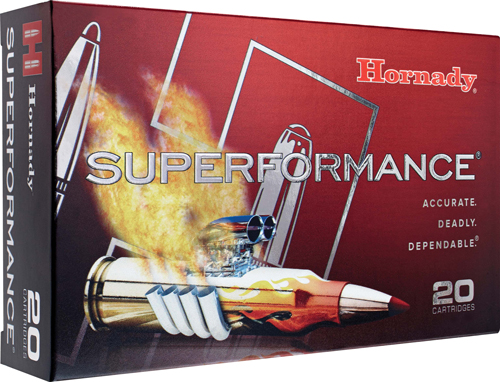 HORNADY SUPERFORMANCE RIFLE  AMO 260 REM 129GR GMX SST SPF 20RD (10 BOXES PER CASE) - for sale