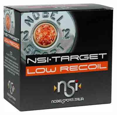 NOBELSPORT AMMO LOW RECOIL 12GA. 1200FPS. 1OZ. #9 25-PACK - for sale