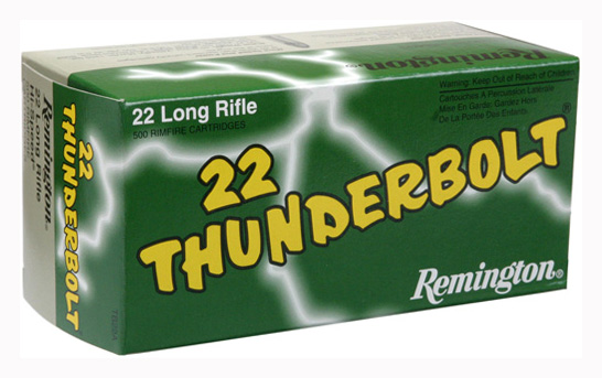 REM AMMO THUNDERBOLT .22LR 40GR. LEAD-RN 50-PACK - for sale