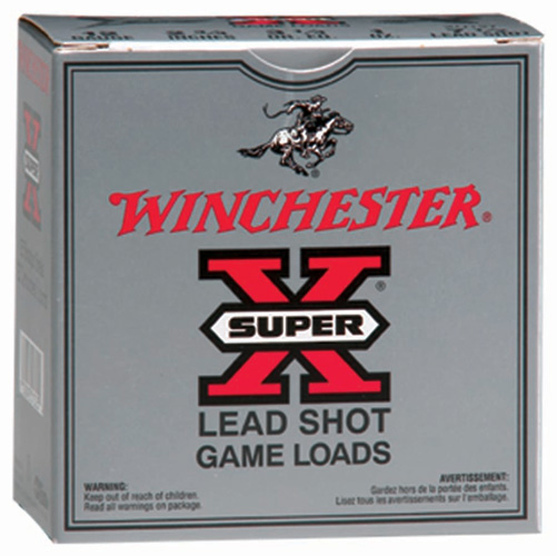 "WIN AMMO SUPER-X 20GA. 2.75"" 1220FPS. 1OZ. #4 25-PACK - for sale"