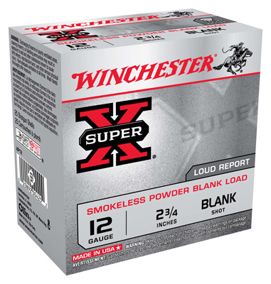 "WIN BLANKS 12GA. 2.75"" 25-PACK SMOKELESS - for sale"