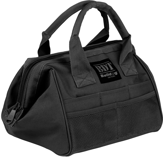 BULLDOG AMMO & ACCESSORY BAG BLACK - for sale