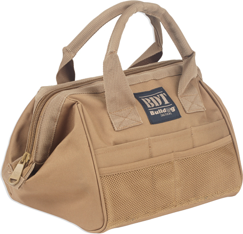 BULLDOG AMMO & ACCESSORY BAG TAN - for sale