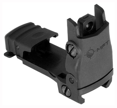 mission first tactical - Flip Up - REAR BACK UP POLY SIGHT FLIP UP BLK for sale