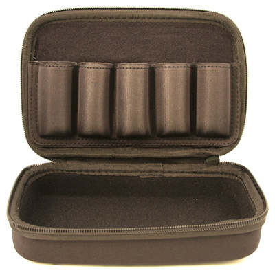 carlson's choke tubes - Protective Choke Tube Case - BLACK NYLON 5 TUBE CASE for sale