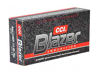 CCI|BLAZER - Blazer - 9mm Luger for sale