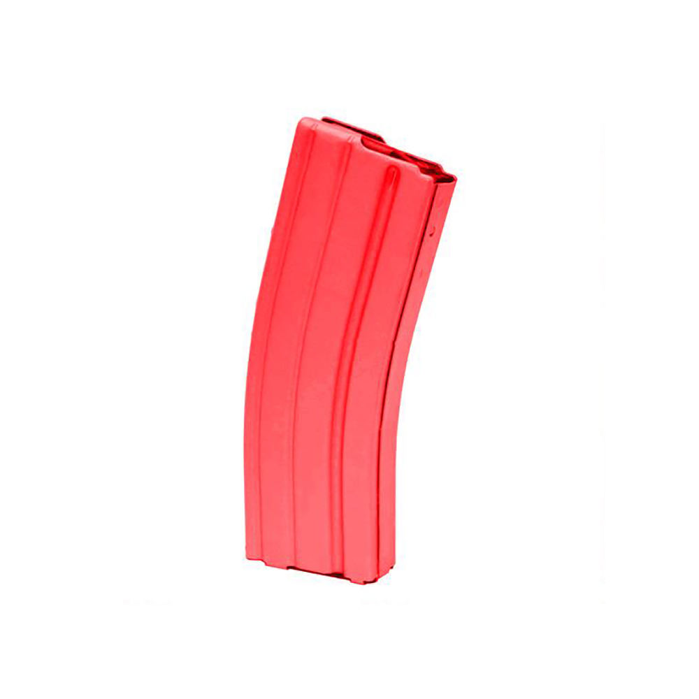 c-products - DURAMAG AR-15 - 223 Rem,5.56 NATO - AR15 223 ALUM RED BLK FLWR 30RD MAG for sale