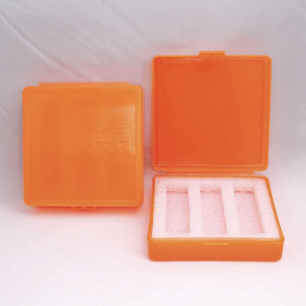 carlson's choke tubes - 00204 - CHOKE TUBE CASE ORANGE for sale