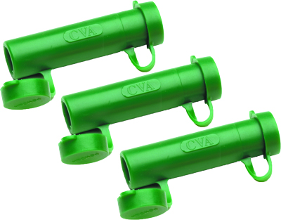 CVA MUZZLELOADING ACCESSORY RAPID LOADER 50 CAL GREEN 3-PACK - for sale