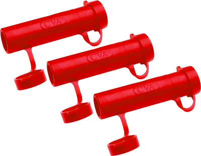 CVA MUZZLELOADING ACCESSORY RAPID LOADER 54 CAL RED 3-PACK - for sale