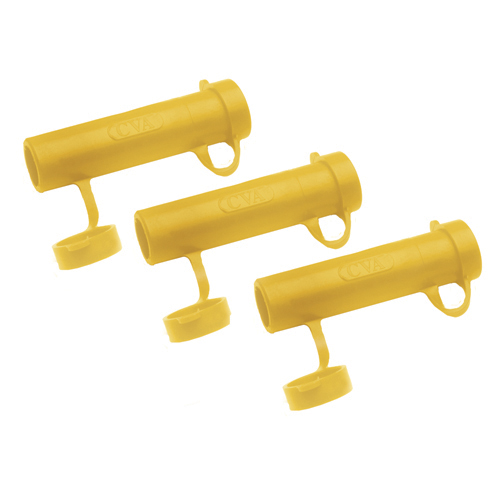 CVA MUZZLELOADING ACCESSORY RAPID LOADER 45 CAL YELLOW 3-PACK - for sale