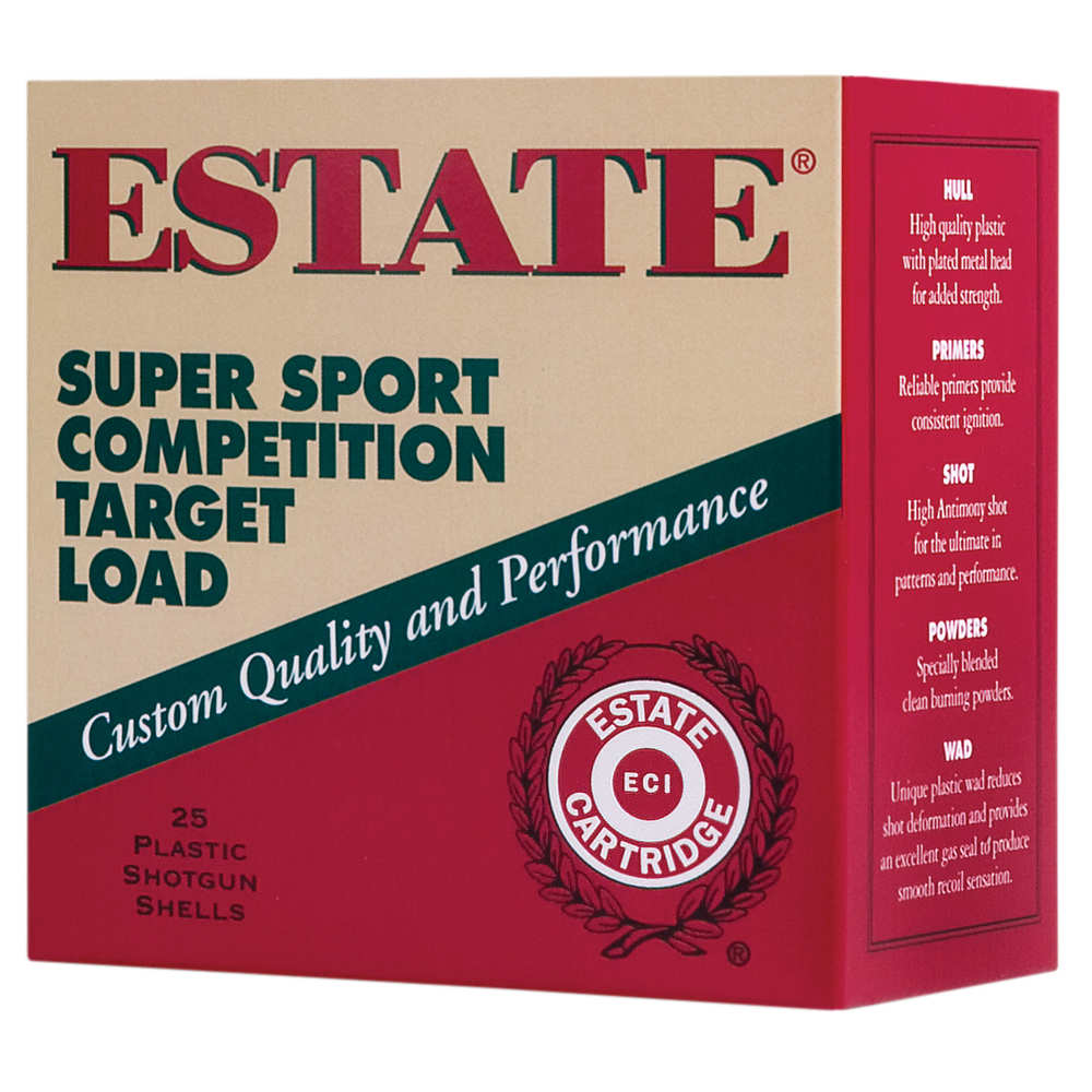 FEDERAL SUPER SPORT TARGET AMO 12GA 1 1/8OZ 8 SHOT 25RD 2 3/4IN 2 3/4DE - for sale