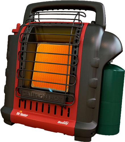 MR.HEATER PORTABLE BUDDY HEATER 4,000 TO 9,000 BTU - for sale