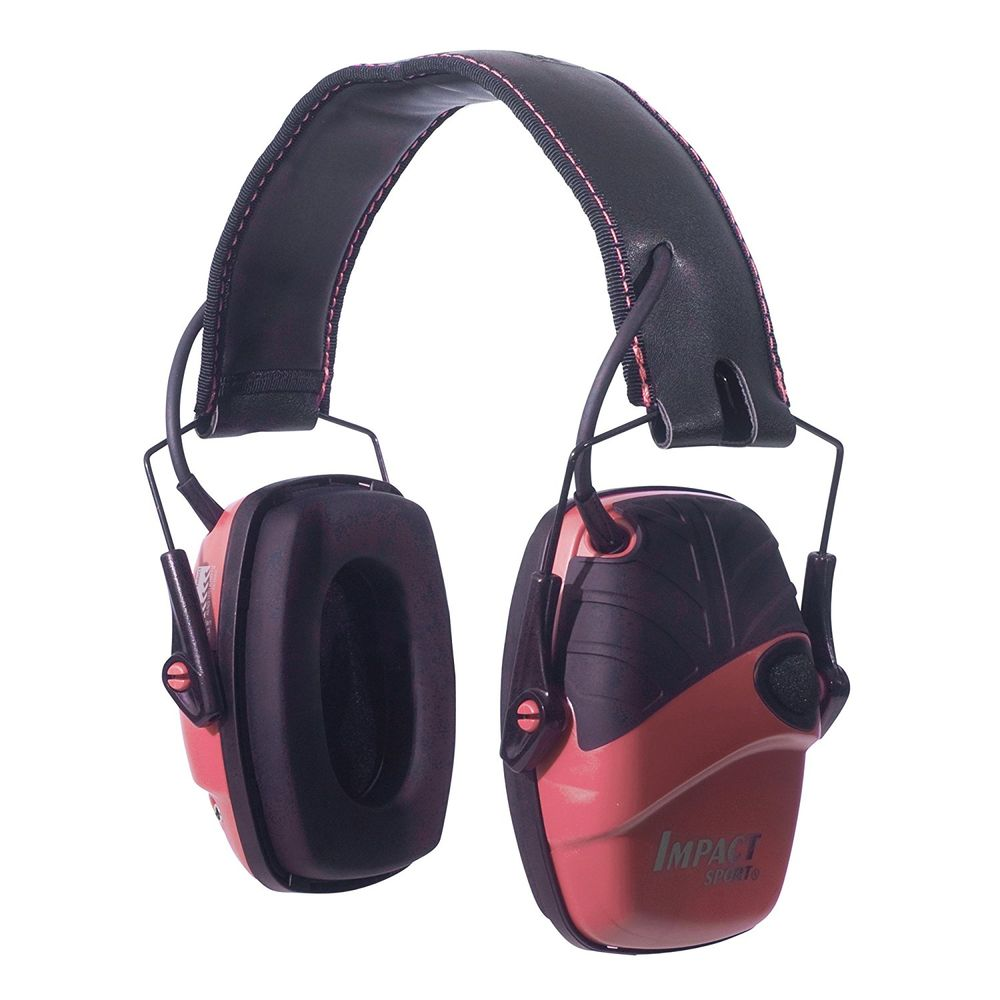 howard leight - Impact Sport - IMPACT SPORT PINK ELEC EARMUFF NRR 22 for sale