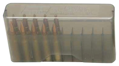 mtm case-gard - Rifle Ammo - SLIPTOP MED RIFLE CTG BOX 20RD - CLR SMK for sale