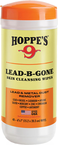 hoppe's - LBG40 - HOPPES LEAD B GONE HAND WIPES for sale