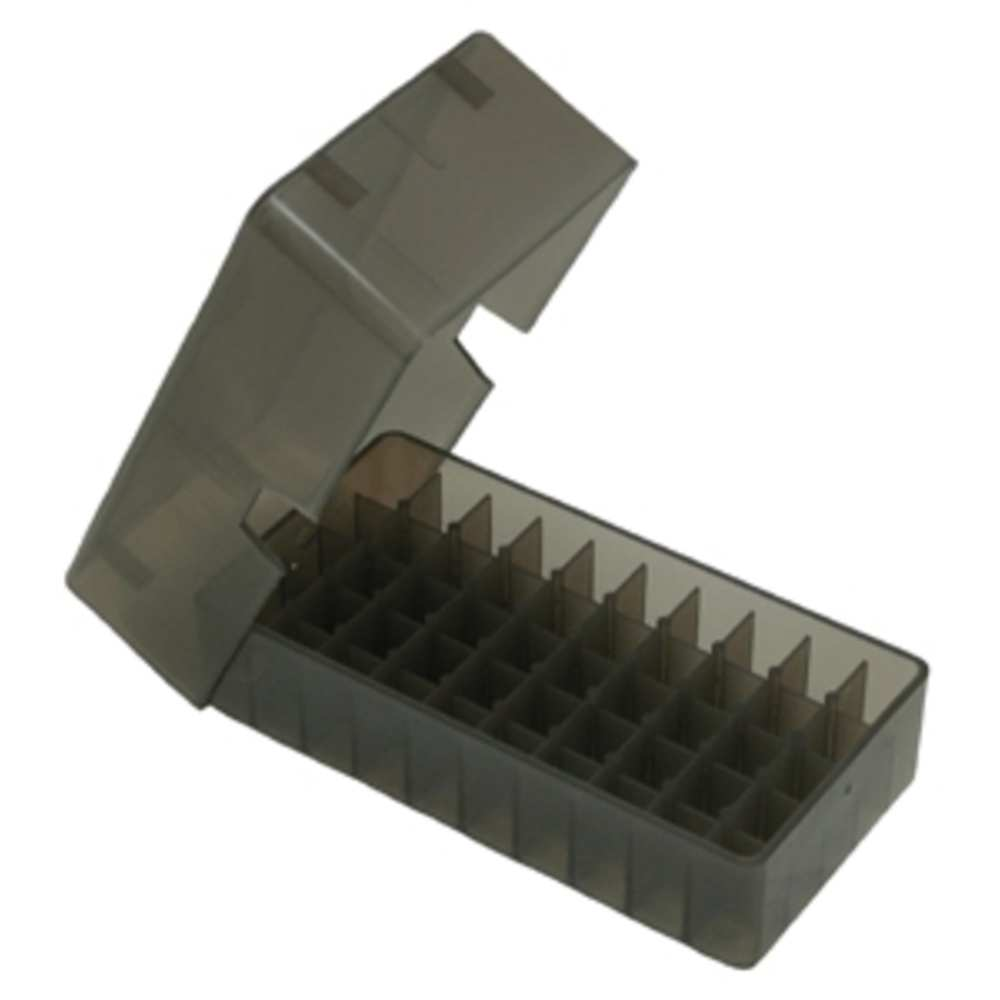 mtm case-gard - E503841 - E50 SER MED HNDGN AMMO BOX 50RD - CL SMK for sale