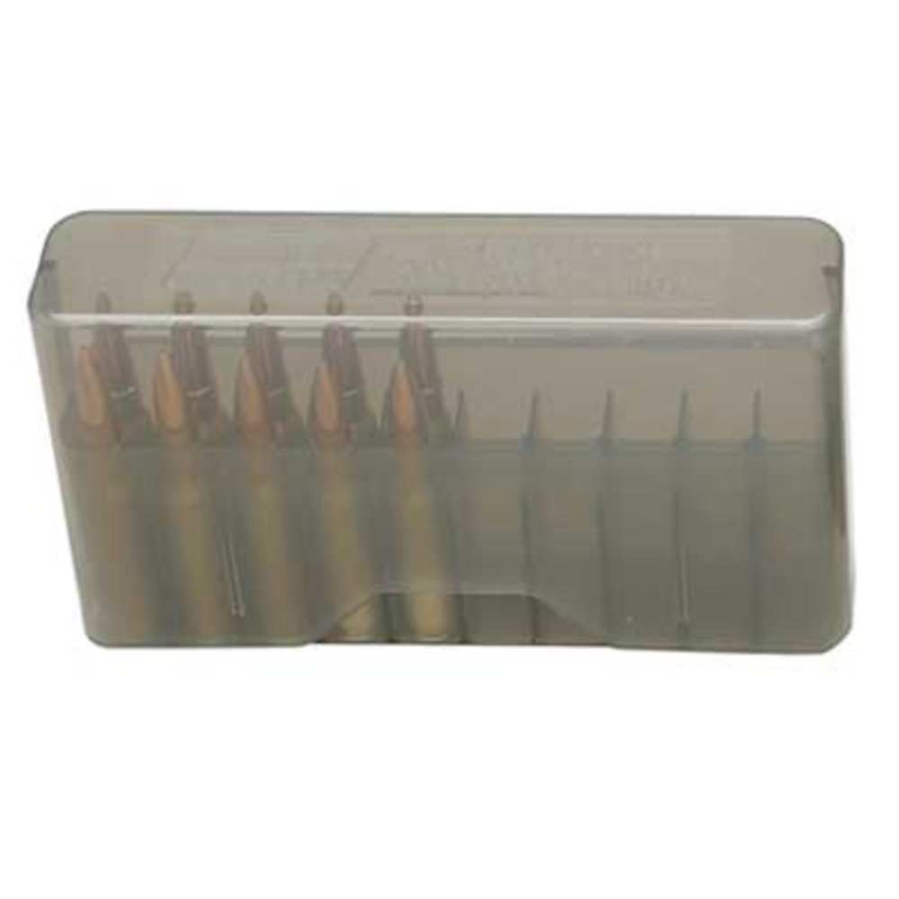 mtm case-gard - J20LLD41 - RIFLE SLIP-TOP 20RD 7MM REM CLR SMK for sale