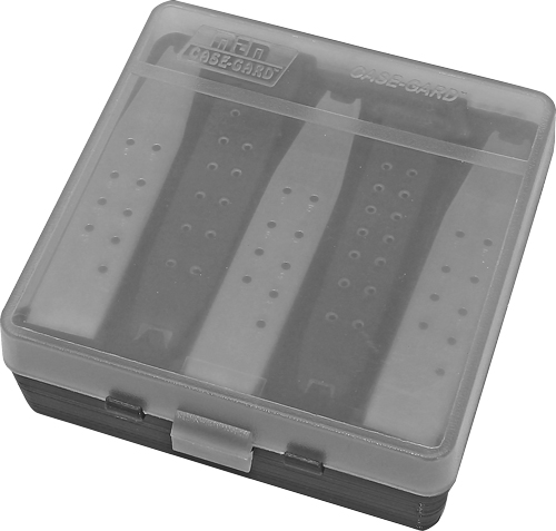 MTM COMPACT HANDGUN MAG CASE STORES UP TO 5 DBL STCK MAGS - for sale