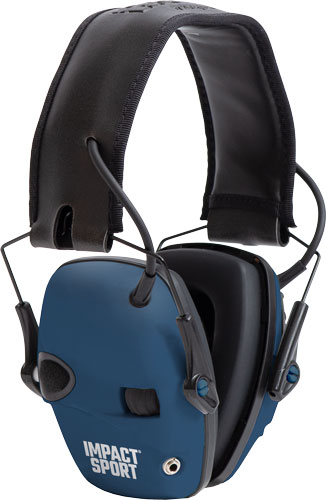howard leight - Impact Sport - IMPACT SPORT TRU BLUE ELEC EARMUFF for sale