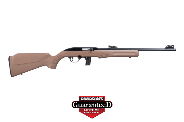 "ROSSI RS RIA 22LR 18"" BK/BK BROWN 10/RD - for sale"