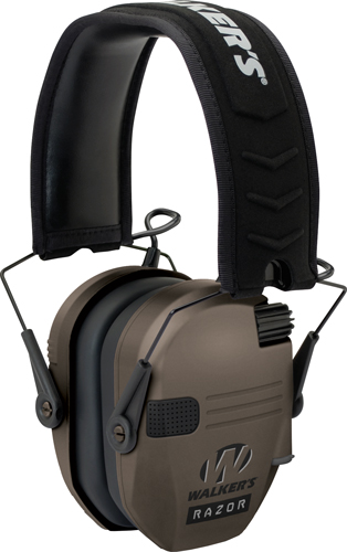 walker's game ear - Razor - RAZOR SLIM ELECTRONIC MUFF FDE for sale