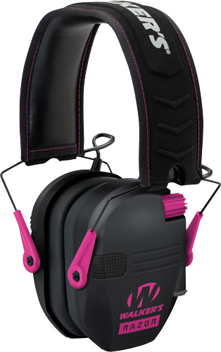 walker's game ear - Razor - RAZOR SLIM ELECTRONIC MUFF PINK for sale
