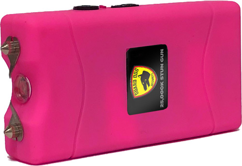 GUARD DOG DISABLER STUN GUN W/ LED LIGHT RECHARGEABLE PINK - for sale