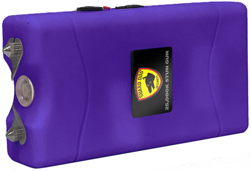 GUARD DOG DISABLER STUN GUN W/ LED LIGHT RECHARGEABLE PURP - for sale