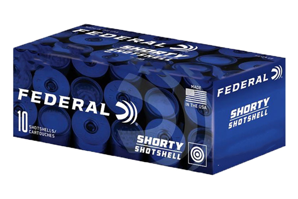 FEDERAL SHORTY SHOTSHELL AMO 12GA 1 3/4IN #8 SHOT 10RD - for sale