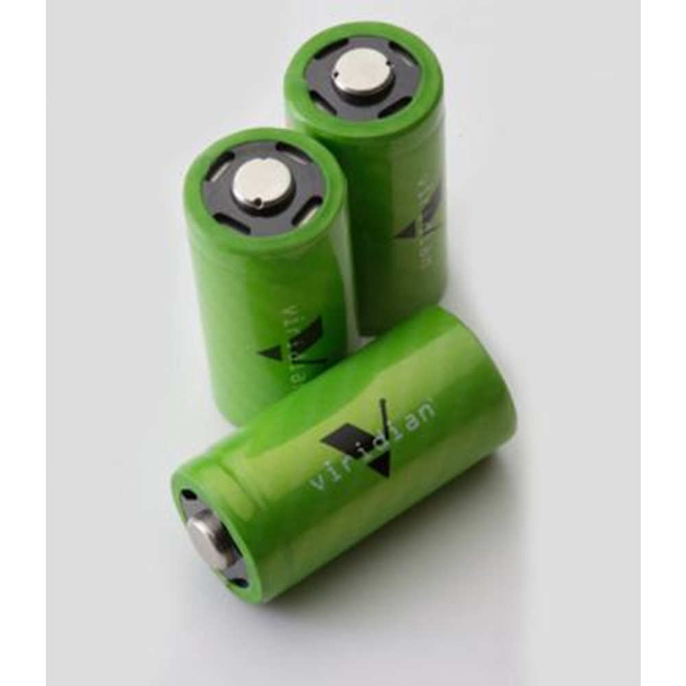 VIRIDIAN LITHIUM BATTERY CR2 3-PACK FITS C-SERIES - for sale