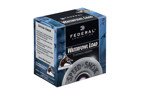"FEDERAL SPEED SHOK AMO 12GA #2 3"" 1-1/8 OZ - for sale"