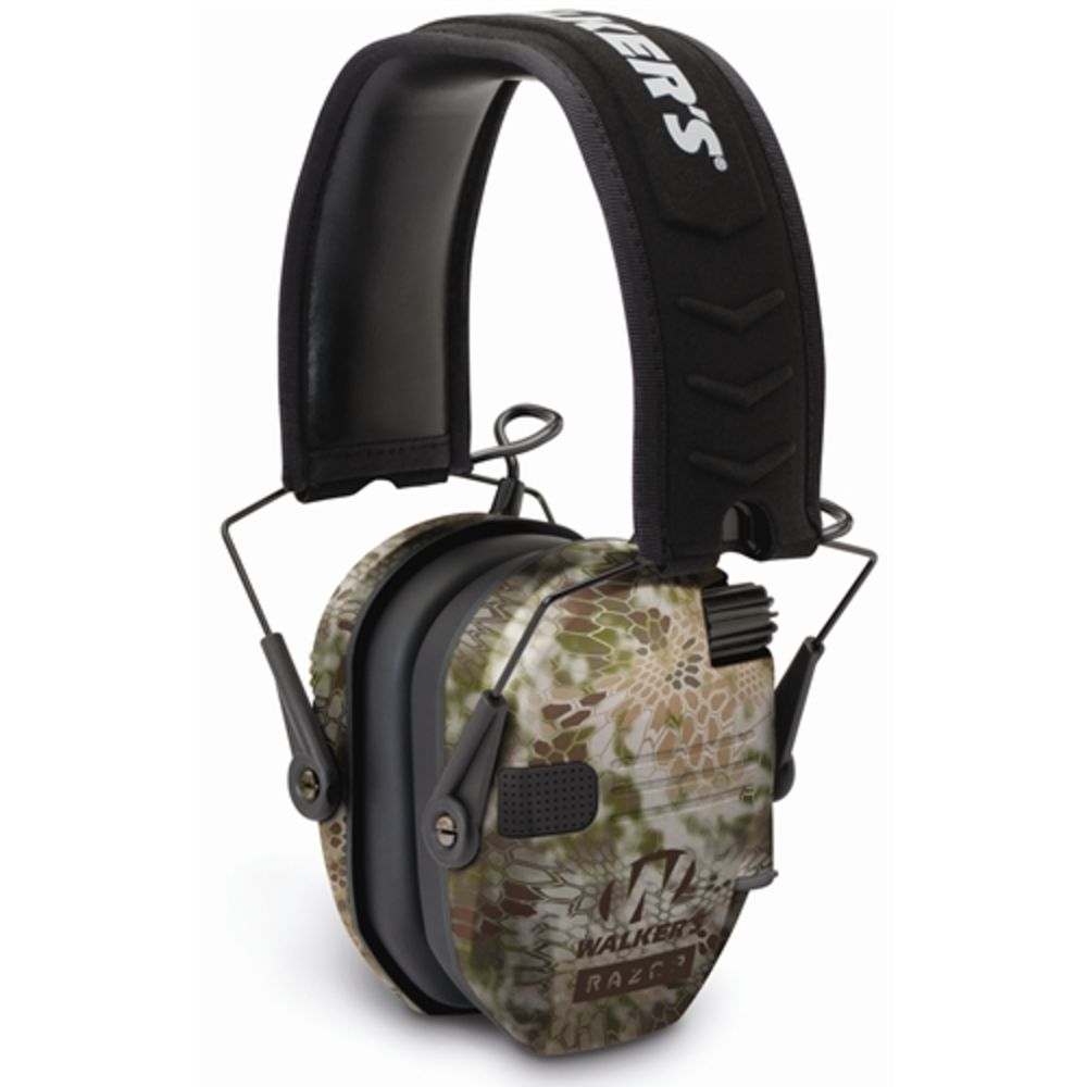 walker's game ear - Razor - RAZOR SLIM ELECTRONIC MUFF KRYPTEK CAMO for sale