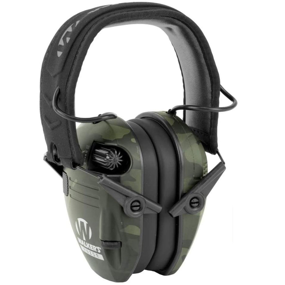 walker's game ear - Razor - RAZOR SLIM ELECTRONIC MUFF MLT CAMO GRY for sale