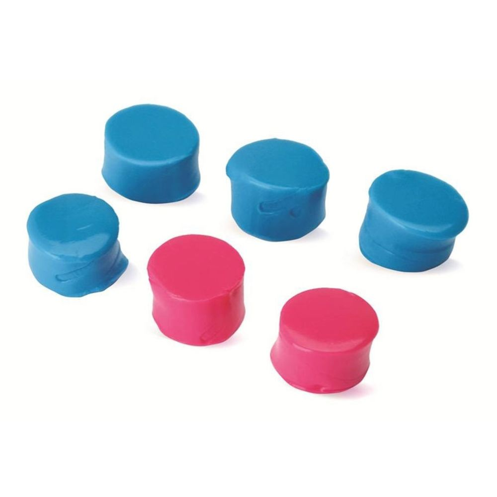 walker's game ear - Silicone Putty - SILICON PLUGS - PINK AND TEAL for sale
